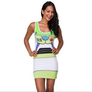 Toy Story Buzz Lightyear Costume Tunic Tank Dress